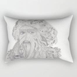 Davy Jones Rectangular Pillow