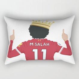 Mo Salah Egyptian King Liverpool Rectangular Pillow