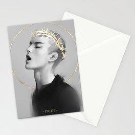7 sins - Pride Stationery Cards