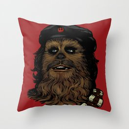 Che Bacca Rebel Throw Pillow