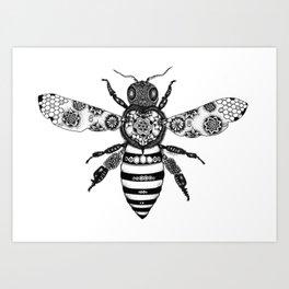 Flowers to Honey  Art Print