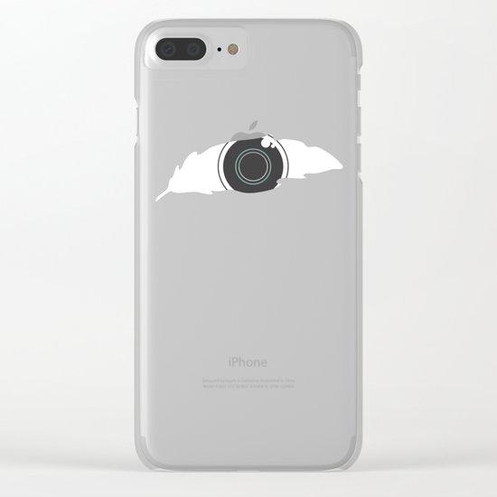 En-light-enment Clear iPhone Case