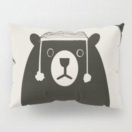 Bear illustration for kids Pillow Sham