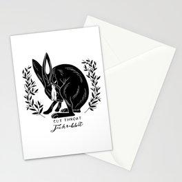 The Blind Jack Rabbit Stationery Cards