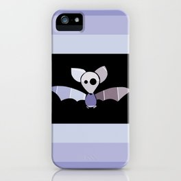 Paint Chip Bat iPhone Case
