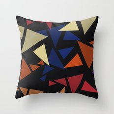 Colorful geometric pattern VII Throw Pillow