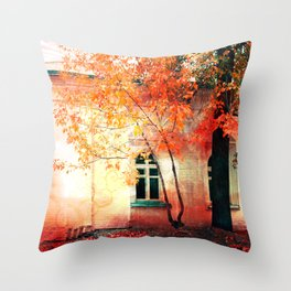 Season of Fire Throw Pillow