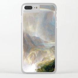 Rainy Season in the Tropics Clear iPhone Case