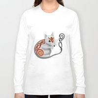 mouse Long Sleeve T-shirts featuring Mouse by Knot Your World