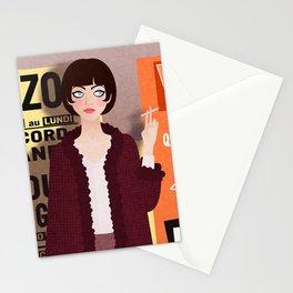 Vivre Sa Vie Stationery Cards