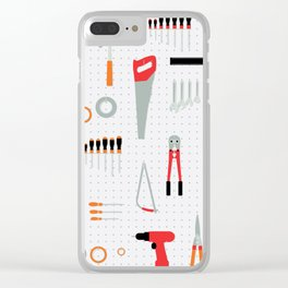 Tool Wall Clear iPhone Case