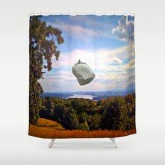 Mountain House Shower Curtain