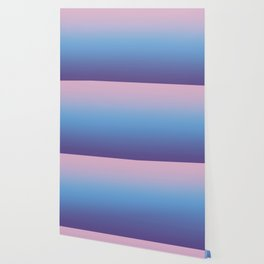 Ombre Pink Blue Ultra Violet Gradient Pattern Wallpaper