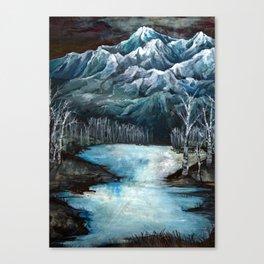 The life below Canvas Print