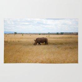 Rhino. Rug