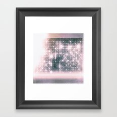 Love Pink Framed Art Print
