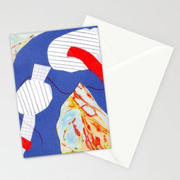 Abstract module Stationery Cards