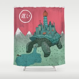 Slow Shower Curtain