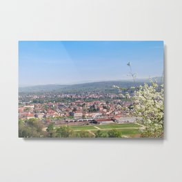 Cityscape Against Sky Metal Print