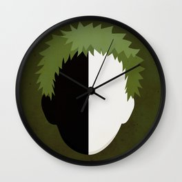 Zetsu Simplistic Face Wall Clock