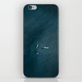 Surfers from Above iPhone Skin