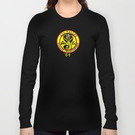 cobra kai karate clan Long Sleeve T-shirt