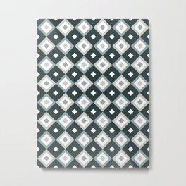 Bohemian Holiday Geometric 01B Metal Print