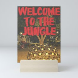welcome to the jungle Mini Art Print