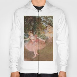 Dancer On Stage By Edgar Degas | Reproduction | Famous French Painter Hoody