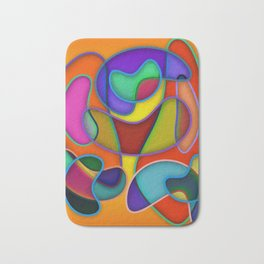 Abstract #359 Bath Mat