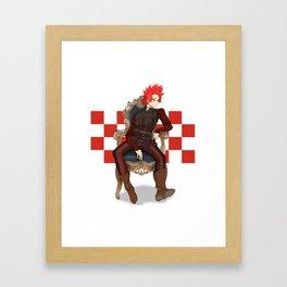 Prince Eijirou Framed Art Print