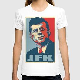 John F. Kennedy pop art T-shirt
