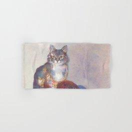 Purling Puss Hand & Bath Towel