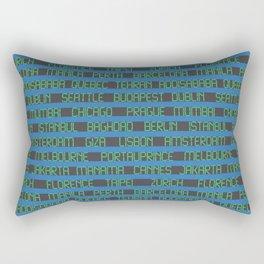 Check Your Flight No. 2 Rectangular Pillow