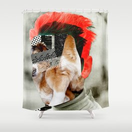 Where is Lassie? Shower Curtain