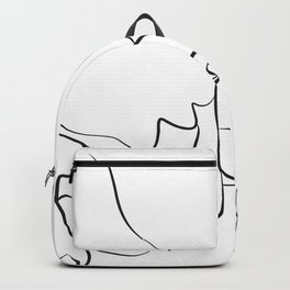 Pinky Swear, One Line Drawing Art Backpack