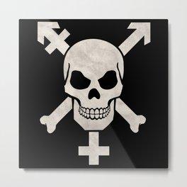 Trans Pirates Metal Print
