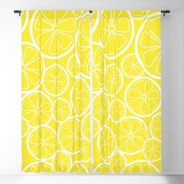 Lemon Slices and Lemonade Blackout Curtain
