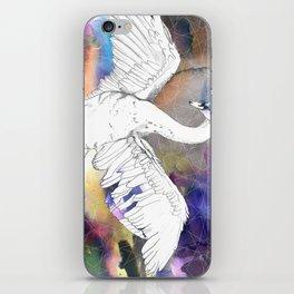 Virgo Swan iPhone Skin
