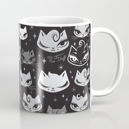 Rockabilly Cats with Pompadours Coffee Mug