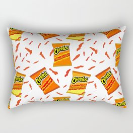 Flamin' Hot Cheetos illustration Rectangular Pillow