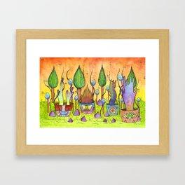 Dream Garden 1 Framed Art Print