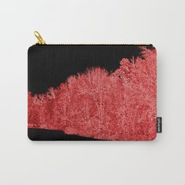 Snowy White Limbs with Neon Filter Carry-All Pouch
