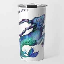 Capricorn Travel Mug