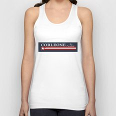 Corleone for President Unisex Tank Top