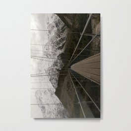 suspension Metal Print