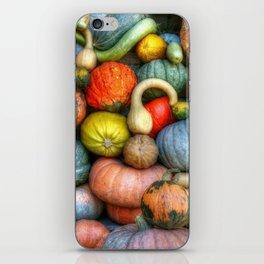 Fall crop iPhone Skin