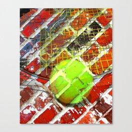 Modern Tennis art 5 Canvas Print