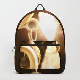 Chandelier Golden Brown Backpack