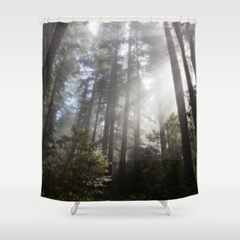 A Spectacle Too Much Shower Curtain